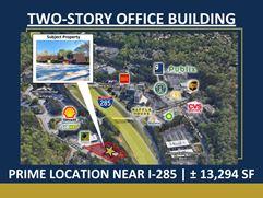 Two-Story Office Building | Prime Location Near I-285 | ± 13,294 SF - Atlanta