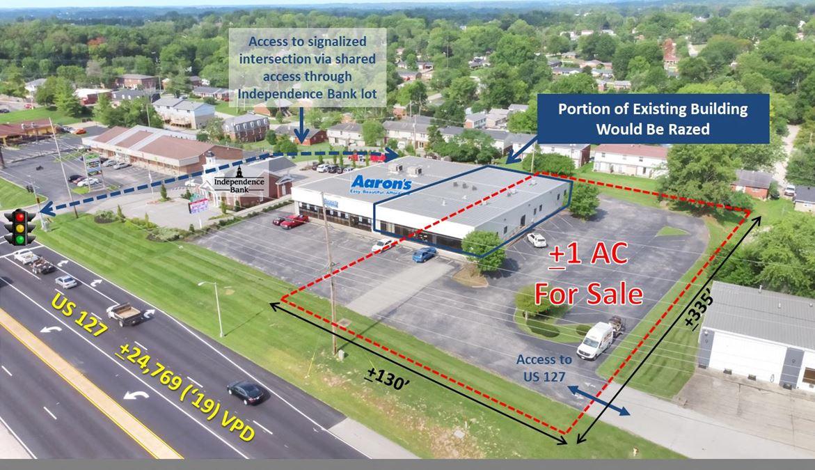 +/-1 AC Retail Lot on US 127