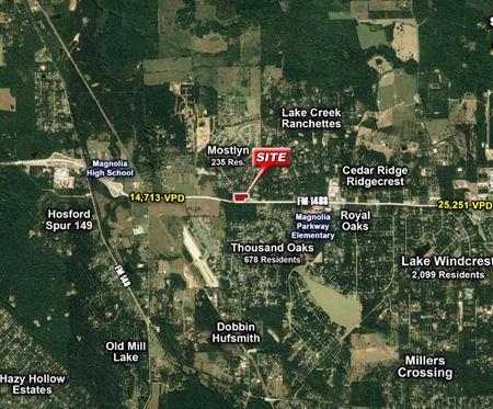 FM 1488 & Mostyn Drive - 7.62 Acres - Decker Prairie