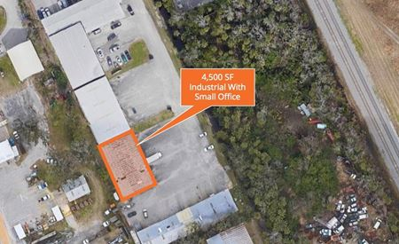 4,500 SF Industrial With Small Office - Holly Hill