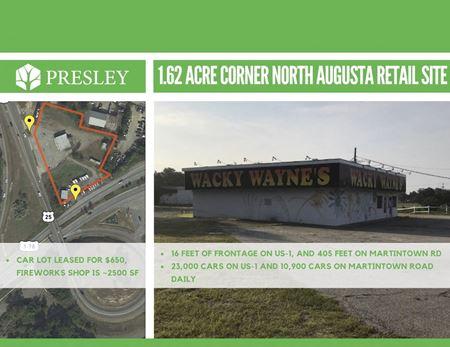 1.62 Acre Corner North Augusta Retail Site - North Augusta