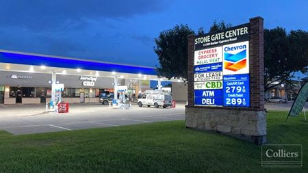 Investment Opportunity   Stone Gate Center in Cypress Texas - Cypress