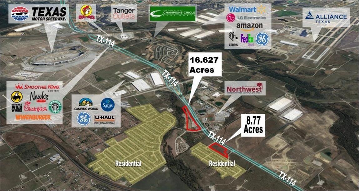 Hwy 114 Texas Motor Speedway Land