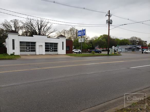 Car Service Building For Sale or Lease   287 River Ave