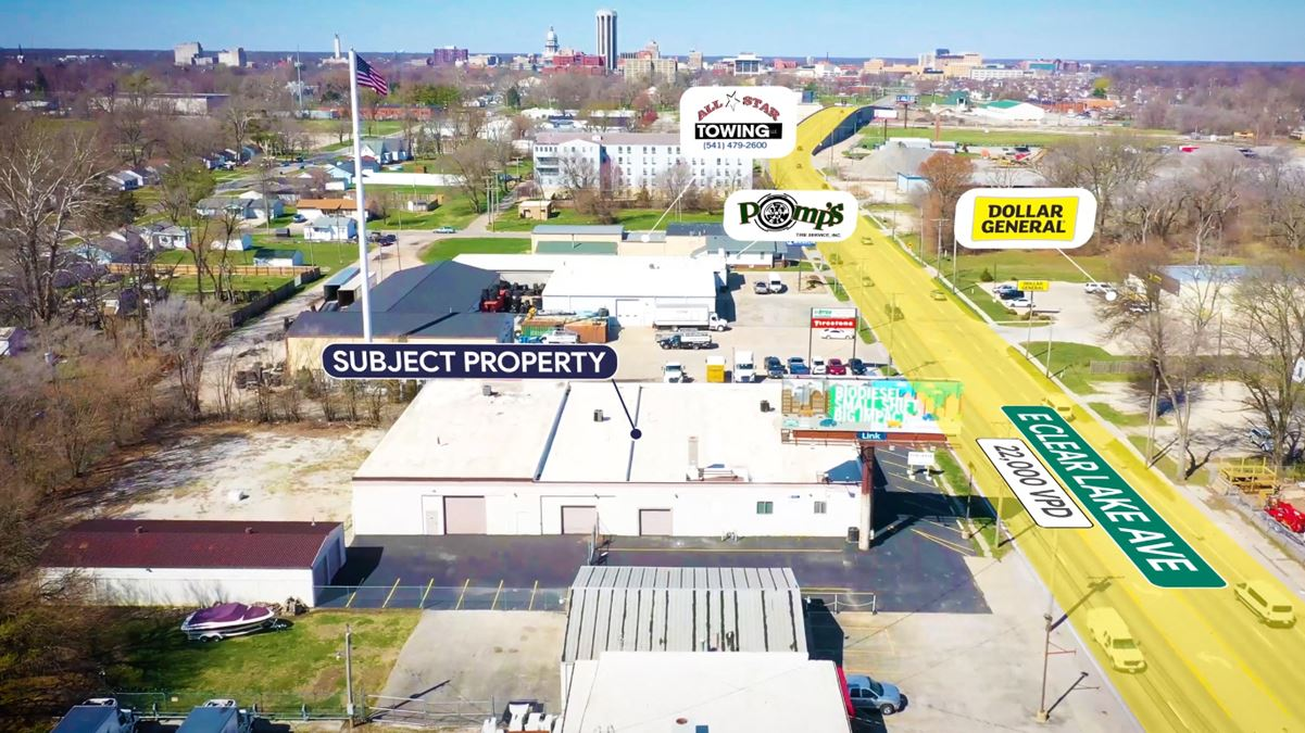 Industrial Warehouse For Lease: 2130 E Clear Lake Ave.