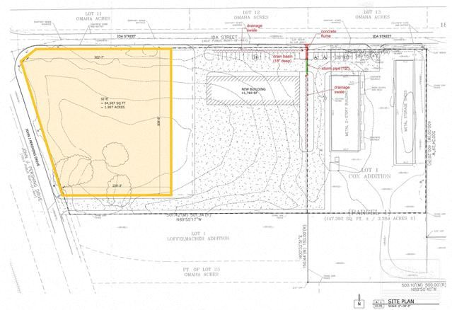 6547 Pershing Drive Land for Sale