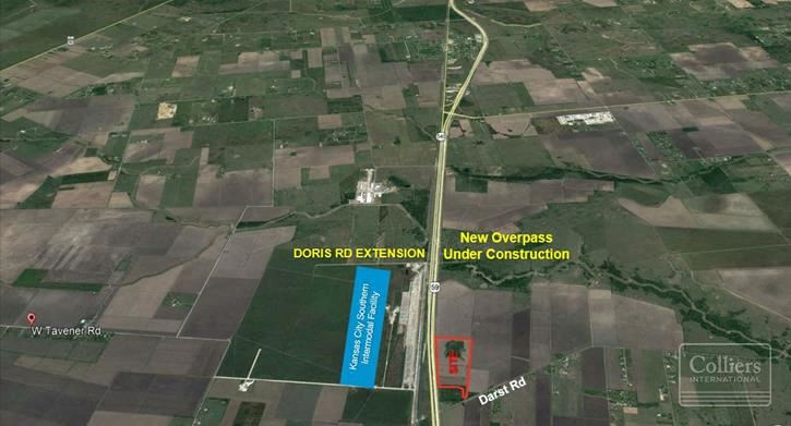 For Sale | Land Investment/User Site ±40 Acres with Highway 59/Interstate 69 Frontage