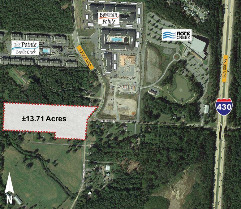 ±13.17 Acres - West Little Rock