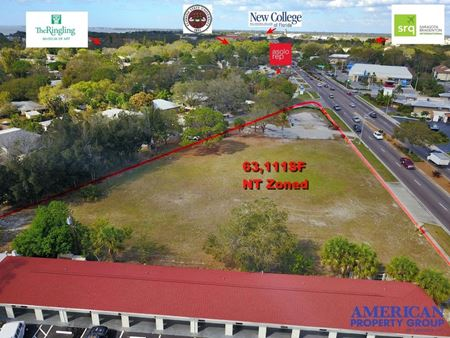 400' of High Density Land with Frontage Directly on North Route 41 in the Path of Progress - Sarasota