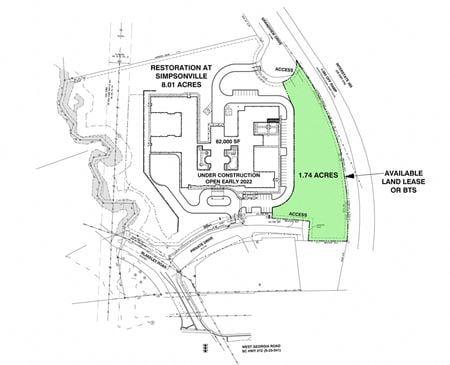 Land Lease or BTS - SC Simpsonville West Georgia Rd - Simpsonville