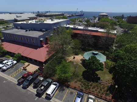 Quayside Quarters | First Floor Office Space - Pensacola