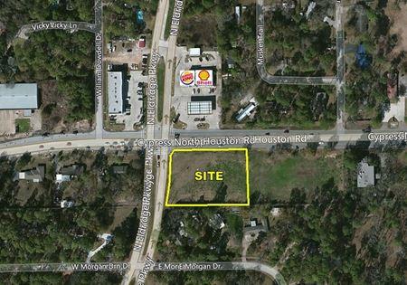 1.28 Acres SEC North Eldridge & Cypress North Houston - Houston