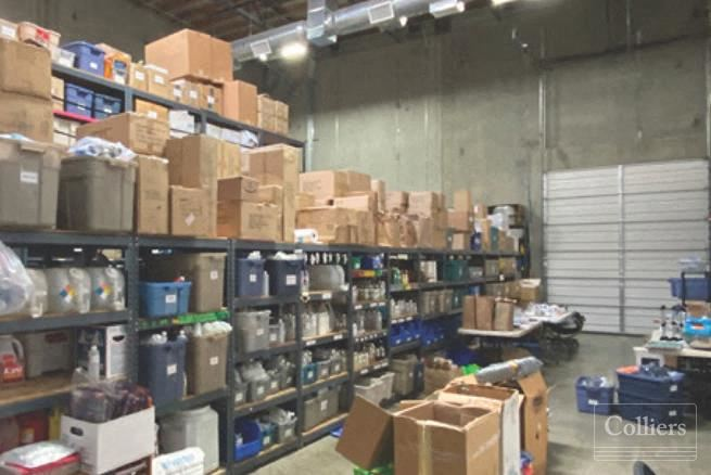 15815 W Monte St, Unit 101: 5,072 SF Industrial/Flex Building for Sale and Lease in Sylmar