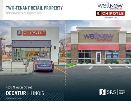 Decatur, IL - WellNow & Chipotle - Decatur