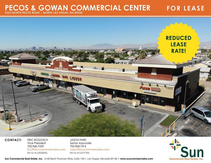 Pecos & Gowan Commercial Center
