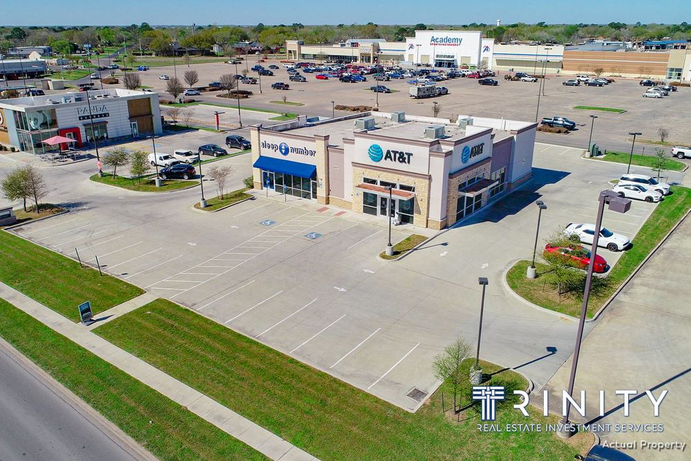 2-Tenant Retail Center With AT&T & Sleep Number