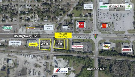 2411 and 2341 US Highway 92 East in Lakeland, Florida - Lakeland