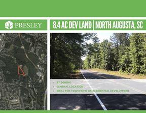 8.4  Acres North Augusta Development Land - North Augusta