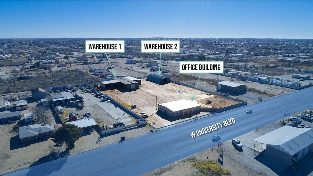 Three Building Industrial Facility