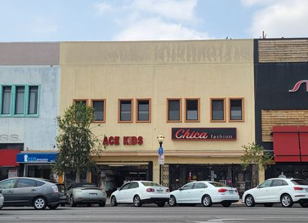 Mixed-Use: Retail & Office On Pacific Blvd. - Huntington Park