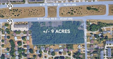 For Sale > Prime M-59 Land > 8.87 Acres - Sterling Heights