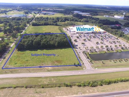 Walmart Out-parcel Development Opportunity - Canton Mississippi - Canton