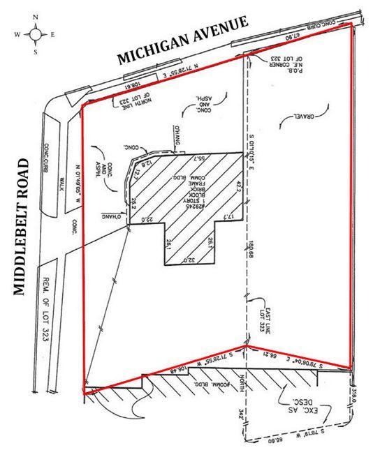SEC of Michigan Avenue & Middlebelt Road