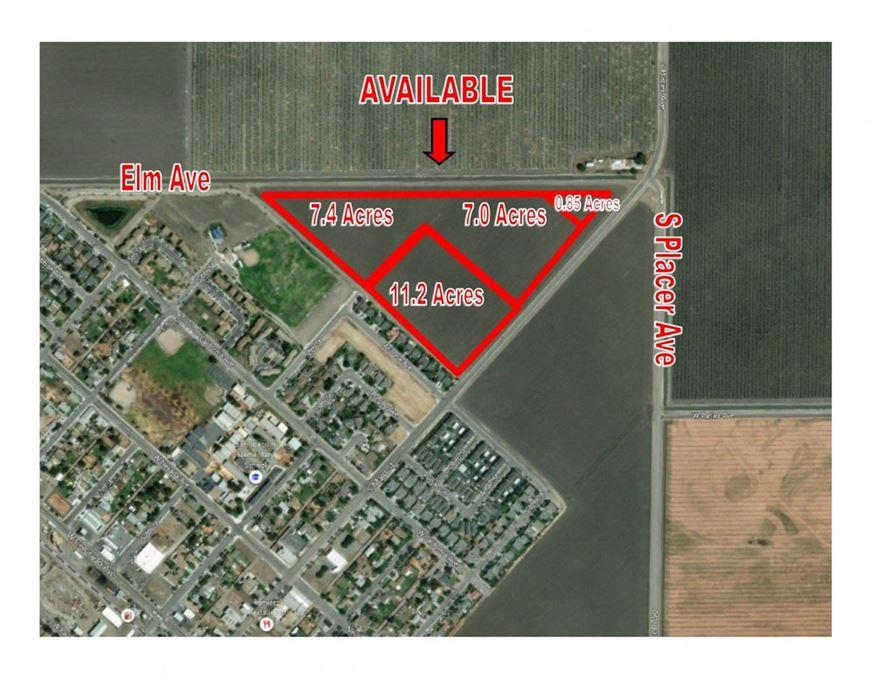 Prime Multi Family Development Land in Growing San Joaquin, Ca Area