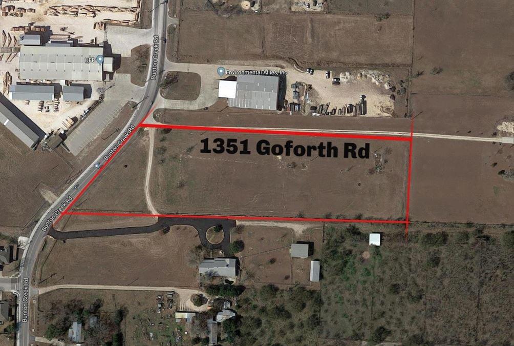 1351 Goforth Road