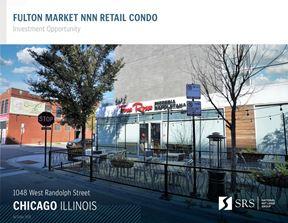 Chicago IL - Forno Rosso Pizzeria / Fulton Market Retail Condo