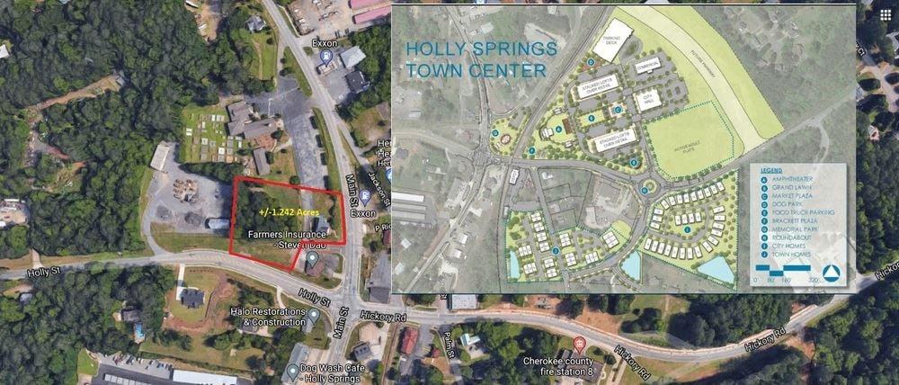 Holly Springs, GA +/-1.24 Acre Development Opportunity