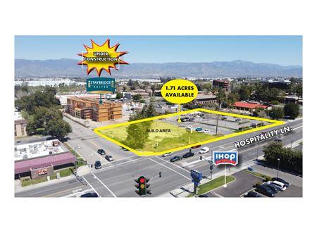 Fully Improved Pad For Lease - San Bernardino
