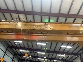 For Sublease | ±65,475 SF Crane Served Manufacturing Facility
