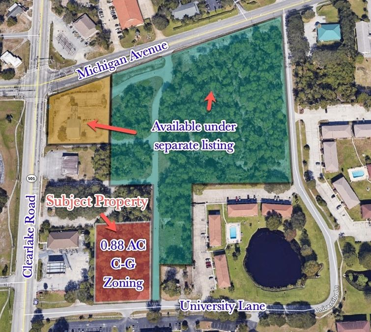 Vacant Commercial/Combine with Adjacent for Room To Grow!