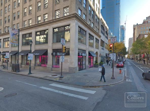 Best Corner in Center City is Available for Lease - First Floor & Basement