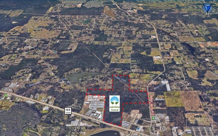 For Sale | LakeView Central ±193 Acres for Sale - Conroe, TX
