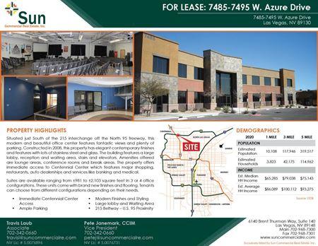 7485-7495 West Azure Drive - Las Vegas