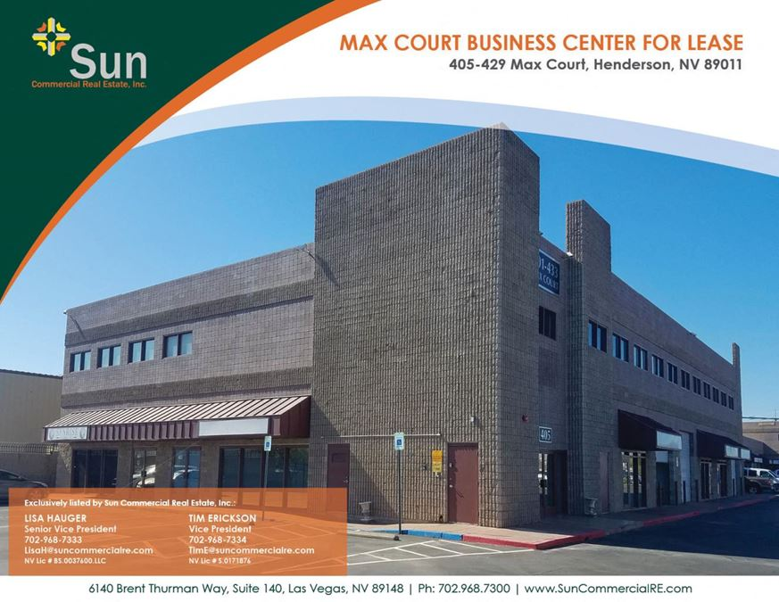 Max Court Business Center
