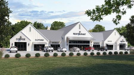 Retail Suites at New Windsor Park Subdivision on Hwy 42 - Prairieville