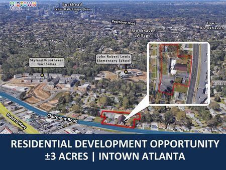 Residential Development Opportunity   ±3 Acres   Intown Atlanta - Atlanta