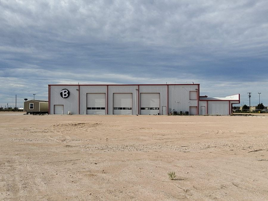 16,960 SF Warehouse/Office on 5.86 to 18.94 AC