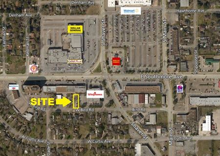 0.19 Acres of Stabilized Land on Bird Road For Lease - Pasadena