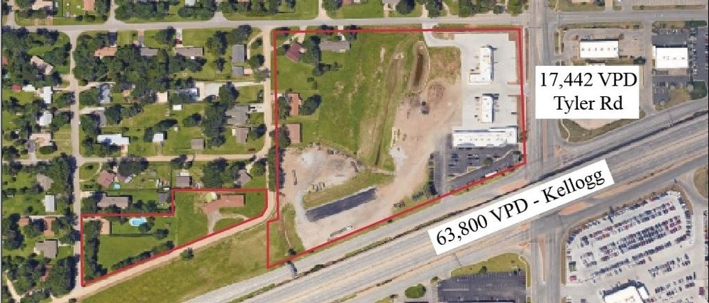 NW Wichita Retail Development Land