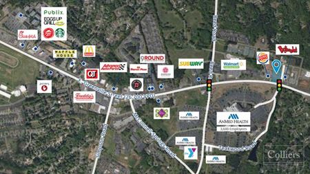 0.98 Acre Hard Corner at Signalized Intersection in Anderson, SC - Anderson