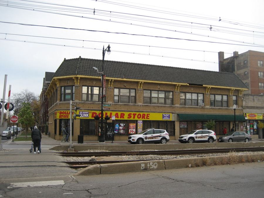 Commercial Building Along 71st Street