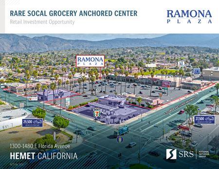 Hemet, CA - Ramona Plaza - Hemet