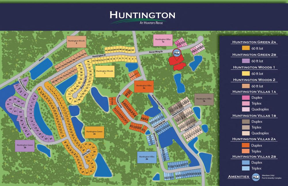 Huntington Green--34 Developed SFR Lots, Ormond Beach, FL