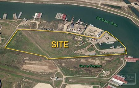 For Sale | ±35 Acres Waterfront Property Available in Freeport, Texas - Freeport