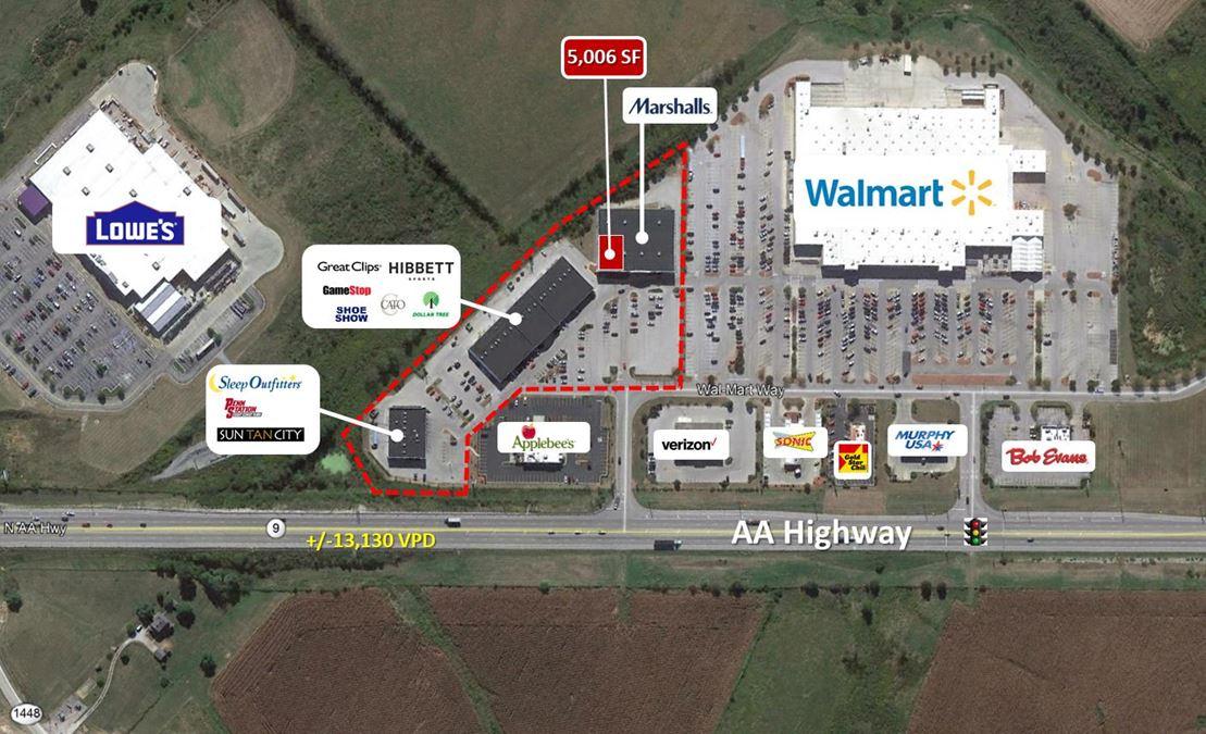 Walmart Retail Plaza