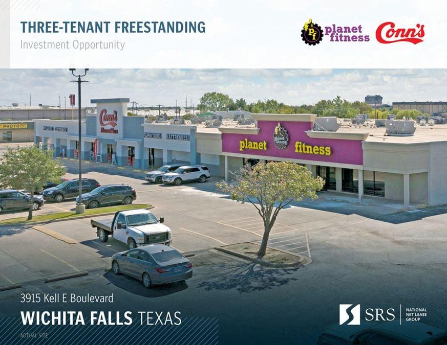 Wichita Falls, TX - Planet Fitness & Conn's
